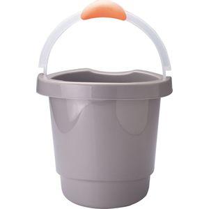 Balde de Plástico Plasútil Fluir 12L Fendi