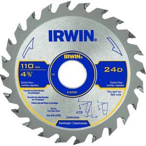 Disco de Serra Irwin 110mm 24 Dentes