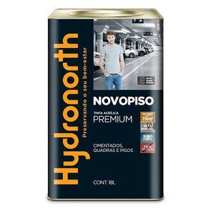 Tinta Hydronorth Novopiso Premium 18L Cinza Chumbo Fosco