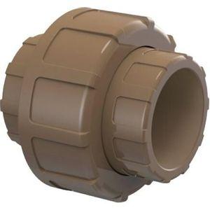 União Soldável Tigre 32mm PVC Marrom
