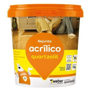 Rejunte Acrílico Quartzolit Pinheiro 1kg