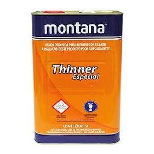 Thinner Montana Diluição 5L