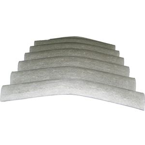 Cumeeira Fibrocimento Isdralit 1,10mx6mm sem Amianto 25°