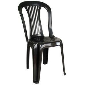 Cadeira de Plástico Antares Bistrô Ponte Nova Preta