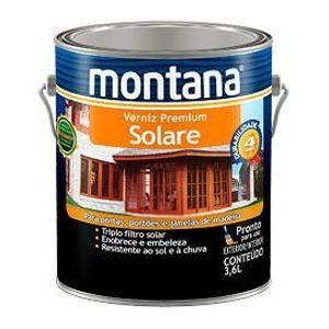 Verniz Montana Solare Premium 3,6L Imbuia Brilhante