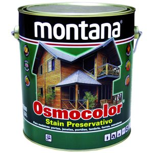 Stain Montana Osmocolor 3,6L Transparente Acetinado
