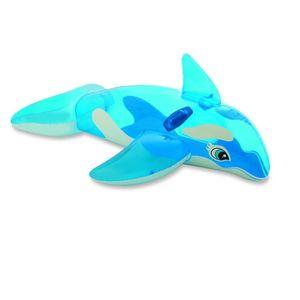 Bote Infantil Intex Baleia Azul