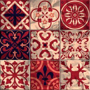 Faixa Decorativa Sofistiq 15x15cm Mix Braga
