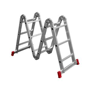 Escada Articulada Botafogo 4x3 Degraus Alumínio