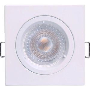 Spot LED de Embutir Focolum Osram 3,3W 3000K Quadrado 9cm Bivolt