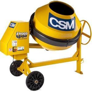 Betoneira CSM 1 Traço Super 400 Litros Motor e Chave de Segurança