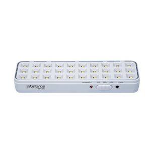Luminária de Emergência Intelbras LDE30L 30 LEDs Branca Bivolt