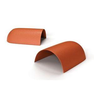 Cumeeira PVC Precon Fechamento 0,25m Cerâmica