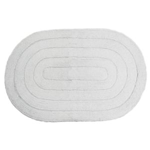 Tapete Kapazi 0,40x0,60m Allegro Oval Branco