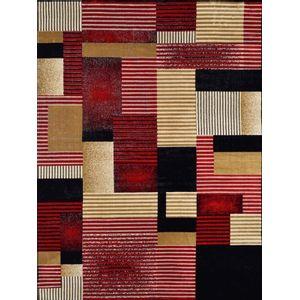 Tapete Rayza 0,98x1,5m Marbella Artistic Vermelho