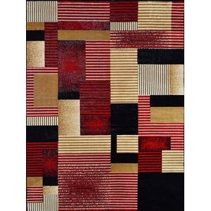 Tapete Rayza 0,48x0,9m Marbella Artistic Vermelho