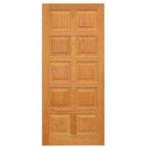 Porta de Abrir Madeira Angelim Madecen 2,1x0,8m 10 Almofadas