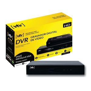 Gravador de Vídeo VTV Digital DVR AHD 16 Canais