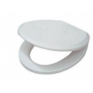 Assento Sanitário Polipropileno Convencional/Oval Branco Slow Close Deca