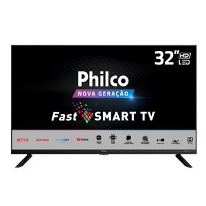 "TV Smart LED 32"" Philco HD PTV32G70SBL Bivolt"