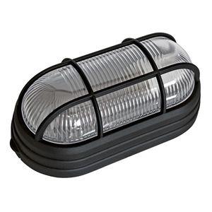 Luminária Tartaruga Dital Marina 1 Lâmpada com Grade E27 Preta