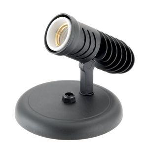 Spot Vitralux 1 Lâmpada Pop E27 Preto