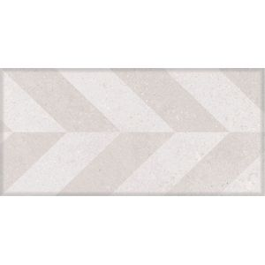 "Piso Cerâmico DueFratelli Lisca 12,5x26,1cm Acetinado Bold Grigio Classe ""A"""