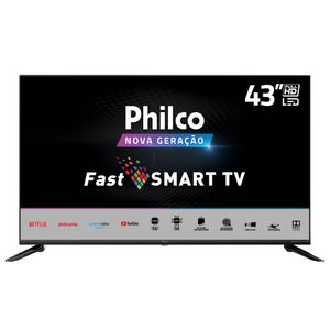 "TV Smart LED FHD 43"" Philco PTV43N5CG70BLF Bivolt"