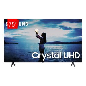 "TV Smart LED 4K 75"" Samsung UHD 75TU7020 Bivolt"