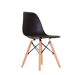 Cadeira Decorativa Empório Tiffany Eames PP Preta
