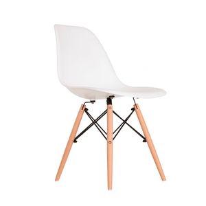 Cadeira Decorativa Empório Tiffany Eames PP Branca