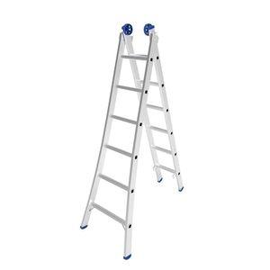 Escada Extensiva Mor 2x6 Degraus 3,09m Alumínio