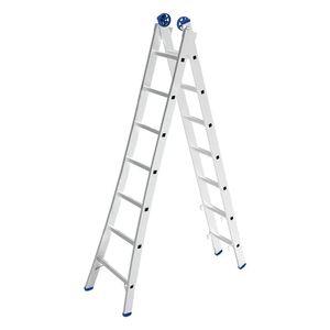 Escada Extensiva Mor 2x7 Degraus 3,65m Alumínio