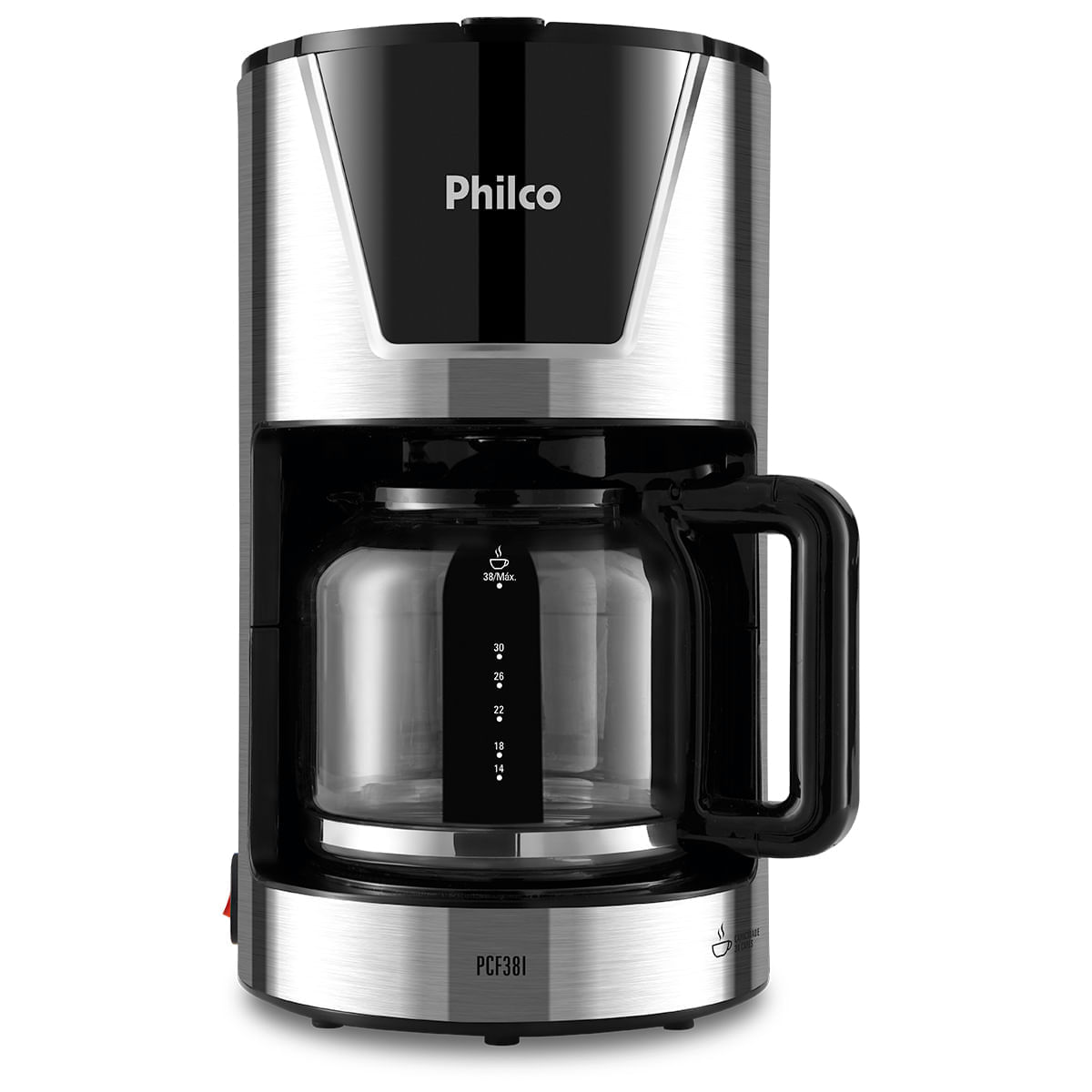Cafeteira Elétrica Philco Inox 110v - Pcf38i