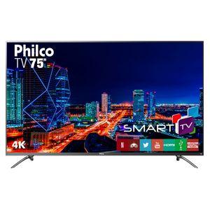 "Smart TV Philco 75""  PTV75E30DSWNT 4K LED - Netflix"