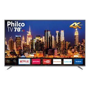 "Smart TV Philco 70"" PTV70Q50SNSG 4K LED - Netflix"