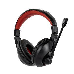 Fone de Ouvido Headset Gamer Sate Preto/Vermelho AE-265