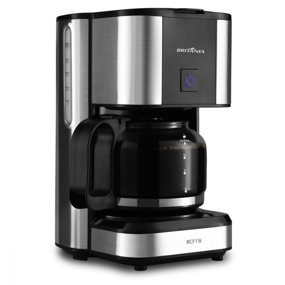 Cafeteira Elétrica Britania Preto 220v - Bcf15i