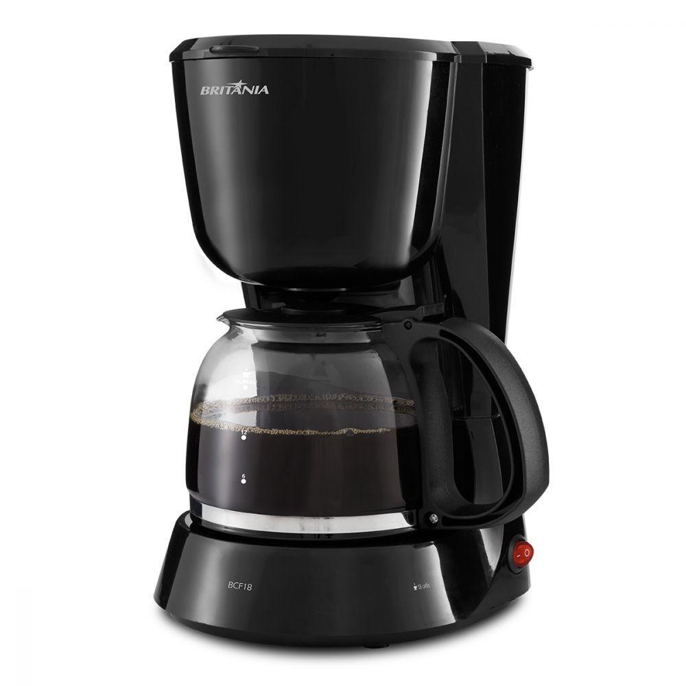Cafeteira Elétrica Britania Inox Rosa 220v - Bcf18